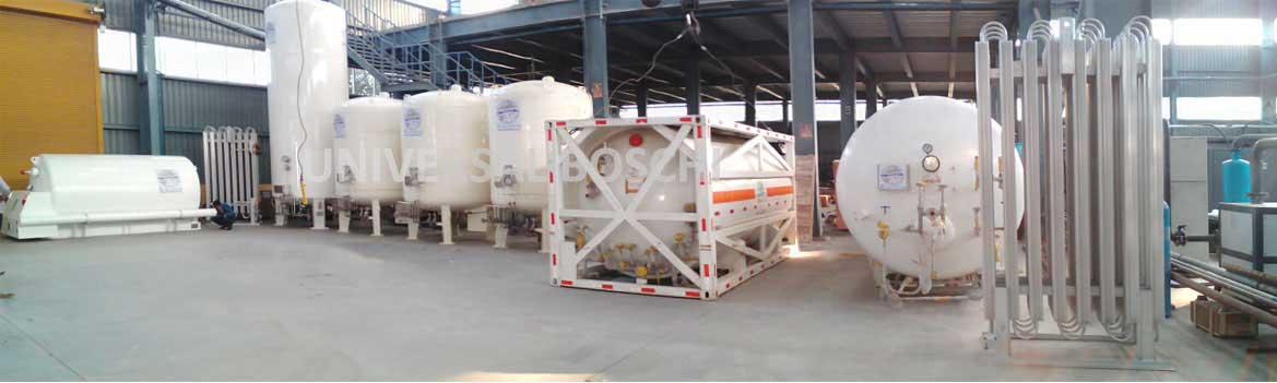Liquid Storage Tanks- Liquid Oxygen Tank, Liquid Nitrogen